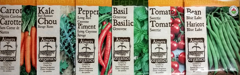 "<h1>Aimers Organic Vegetable Seeds</h1><span>A broad selection of GMO free certified organic seeds.</span> <br><a href=""/userContent/documents/2017_PNWAimers_Organic_PacketForm.pdf"" target=""_top"" style=""border:none;text-decoration:underline;"">Click here for more information.</a>"